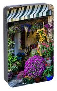 Positano Flower Shop Portable Battery Charger