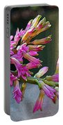 Posteredged Flowers Portable Battery Charger