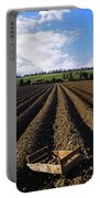 Potato Field, Ireland Portable Battery Charger