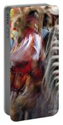 Pow Wow Dancer Portable Battery Charger