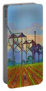 Power Plant Photo Art Portable Battery Charger