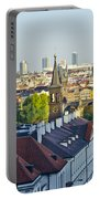 Prague And St Charles Bridge Portable Battery Charger