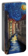 Prague By Moonlight Portable Battery Charger