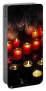 Prague Church Candles Portable Battery Charger