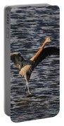 Prancing Heron Portable Battery Charger