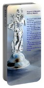 Prayer To St Christopher Portable Battery Charger