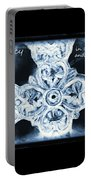 Prayer Triptych 1 Portable Battery Charger