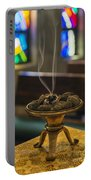 Prayers Rise Like Incense Portable Battery Charger