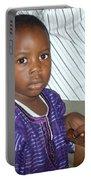 Precious Nigerian Boy Portable Battery Charger