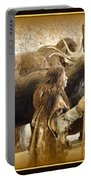 Prehistoric Man And Friends Portable Battery Charger