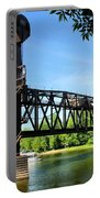 Prescott Lift Bridge Portable Battery Charger by Kristin Elmquist