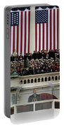 President George W. Bush Makes Portable Battery Charger
