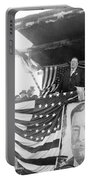 President Taft Giving A Speech In Augusta - Georgia C 1910 Portable Battery Charger