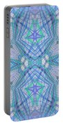 Pretty Blue Portable Battery Charger