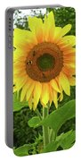 Pretty Sunflower  Portable Battery Charger