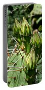 Prickly Pear Cactus Buds Portable Battery Charger