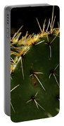 Prickly Pear Dangerous Beauty - Greeting Card Portable Battery Charger