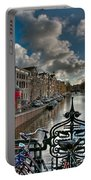 Prinsengracht And Leidsestraat. Amsterdam Portable Battery Charger