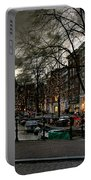 Prinsengracht And Spiegelgracht. Amsterdam Portable Battery Charger