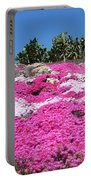 Profusion Of Pink Portable Battery Charger