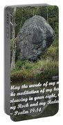 Psalm 19 V14a Portable Battery Charger