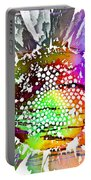 Psychedelic Daisy 2 Portable Battery Charger