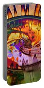 Psychedelic Daze Portable Battery Charger