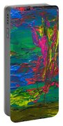 Psychedelic Sea Portable Battery Charger