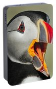 Puffin Portrait Portable Battery Charger