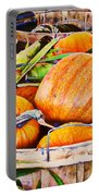 Pumpkin And Corn Combo Portable Battery Charger
