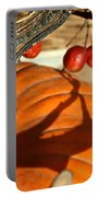 Pumpkin Berries Portable Battery Charger