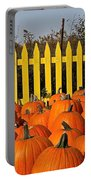 Pumpkin Corral Portable Battery Charger