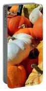 Pumpkin Harvest Portable Battery Charger