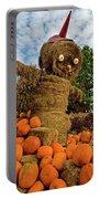Pumpkin King Portable Battery Charger