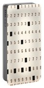 Punch Card Portable Battery Charger