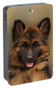 Puppy With Bubbles Portable Battery Charger