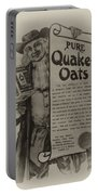Pure Quaker Oates Portable Battery Charger by Bill Cannon