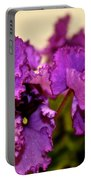 Purple And More Purple Portable Battery Charger