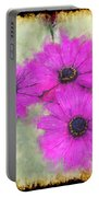 Purple Daisy Trio II Portable Battery Charger