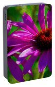 Purple Daisy's Portable Battery Charger