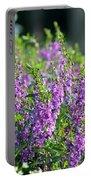 Purple English Garden  Portable Battery Charger