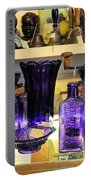 Purple Glass Collection Portable Battery Charger