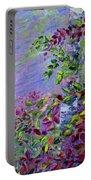 Purple Haze Portable Battery Charger by Joanne Smoley