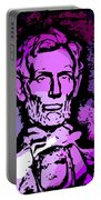 Purple Lincoln Portable Battery Charger
