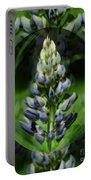 Purple Lupine Beauty Portable Battery Charger