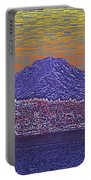 Purple Mountain Majesty Sunset Portable Battery Charger