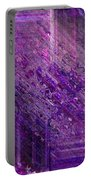 Purple Mystique Portable Battery Charger