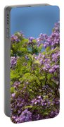 Purple Prelude Portable Battery Charger