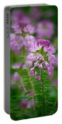 Purple Serenade Portable Battery Charger