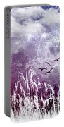 Purple Skies Portable Battery Charger